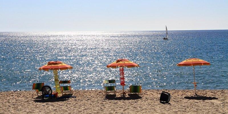 set spiaggia