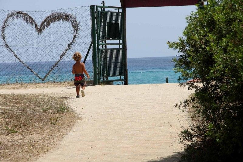 salita spiaggia mare